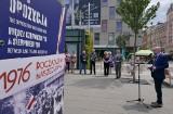 """Wystawa IPN """"TU rodziła się opozycja"""" na Rynku w Katowicach. Krótkie preludium poprzedzające festiwal wolności"""