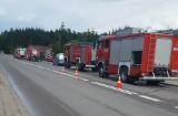 Czarna Białostocka. Dziewczyna zatruła się tlenkiem węgla. Interweniowali strażacy (zdjęcia)