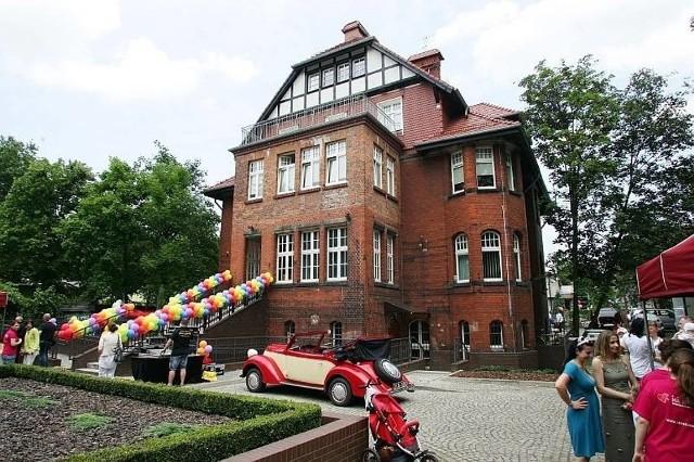 budynek kliniki przy ul. Bujwida. Fot. archiwalne