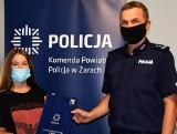12-letnia Kornelia Turza z Żar zachowała się wspaniale. Podziękował jej komendant policji