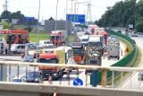 Potężny korek na autostradzie A4 pod Wrocławiem. Co się dzieje?