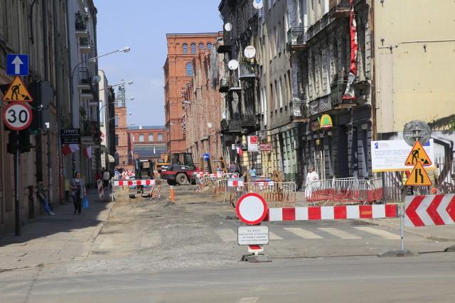 Rewitalizacja ulicy Gdańskiej w Łodzi. Remonty ulic i kamienic w Łodzi nabierają coraz większego tempa