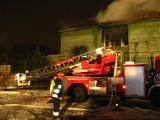 Pożar internatu. Pijani strażacy mogą być wydaleni ze służby