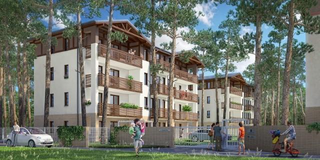 Rezydencja Park IIIBudynek architekturą będzie nawiązywał do tradycyjnych dla tego regionu domów szachulcowych.