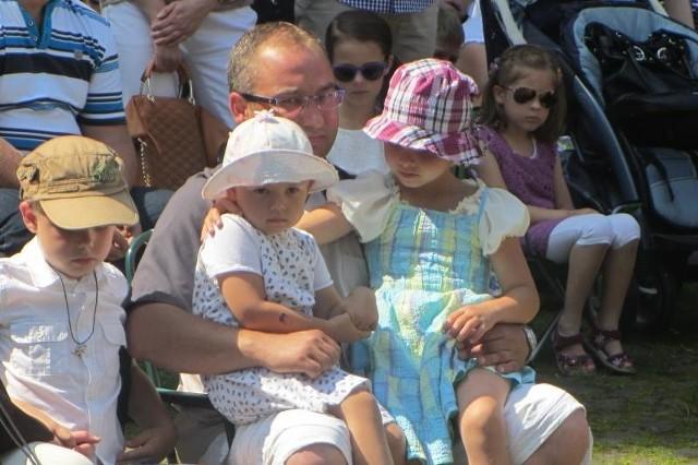 Lipcowa pielgrzymka dzieci ma na Górze św. Anny długą tradycję.