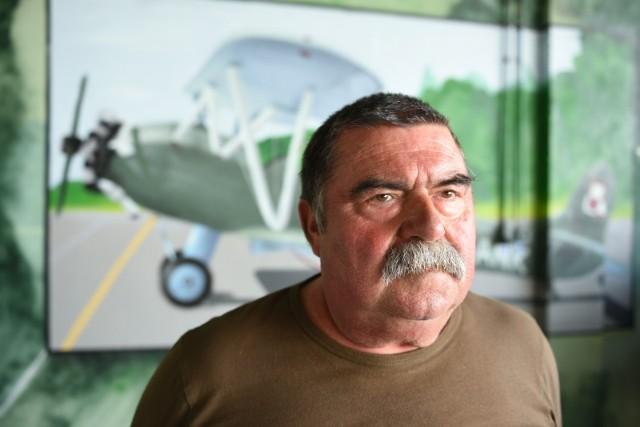 Janusz Rosołek, dyrektor Aeroklubu Pomorskiego