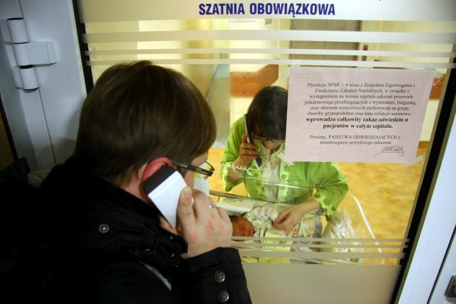 Szpital przy ul. Jaczewskiego wprowadził zakaz odwiedzin na wszystkich oddziałach.