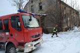 Pożar zabytkowego dworku w Zamysłowie w Rybniku [WIDEO ZDJĘCIA] Ktoś go podpalił