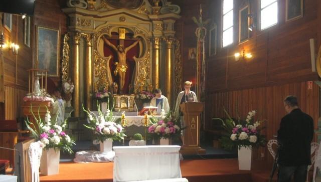 W programie diecezjalnego objazdu znalazła się także konferencja naukowa w kościele w Stradowie.