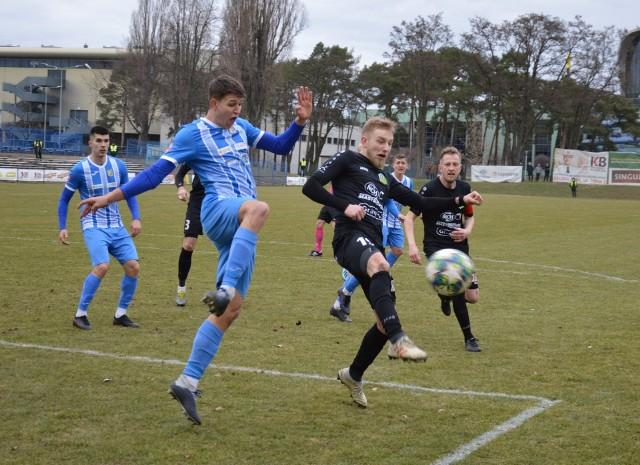 Piłkarze Lechii Zielona Góra zremisowali ze Stalą Brzeg 0:0.
