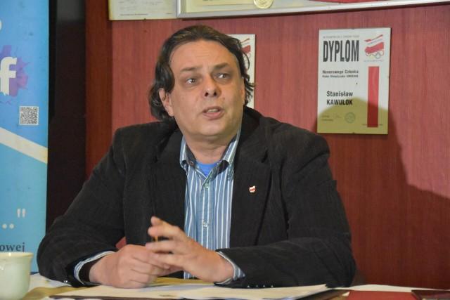Aleksander Larysz jest jednym z kandydatów na prezydenta Rybnika