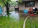 Gwałtowne opady deszczu i podtopienia w woj. śląskim. Minionej doby strażacy interweniowali ponad 80 razy. Najwięcej w powiecie bielskim