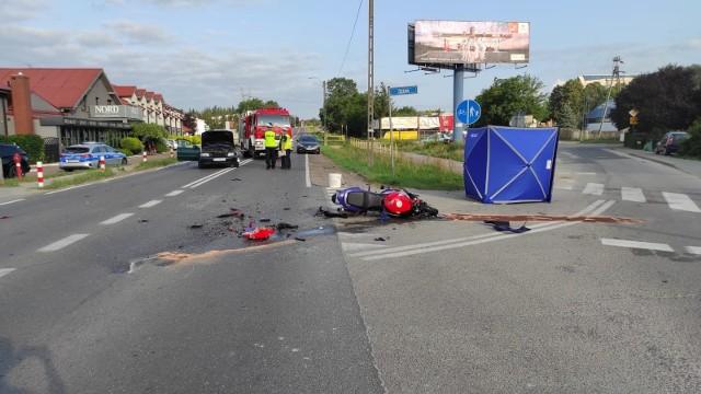 Śmiertelny wypadek w Mierzynie w Szczecinie