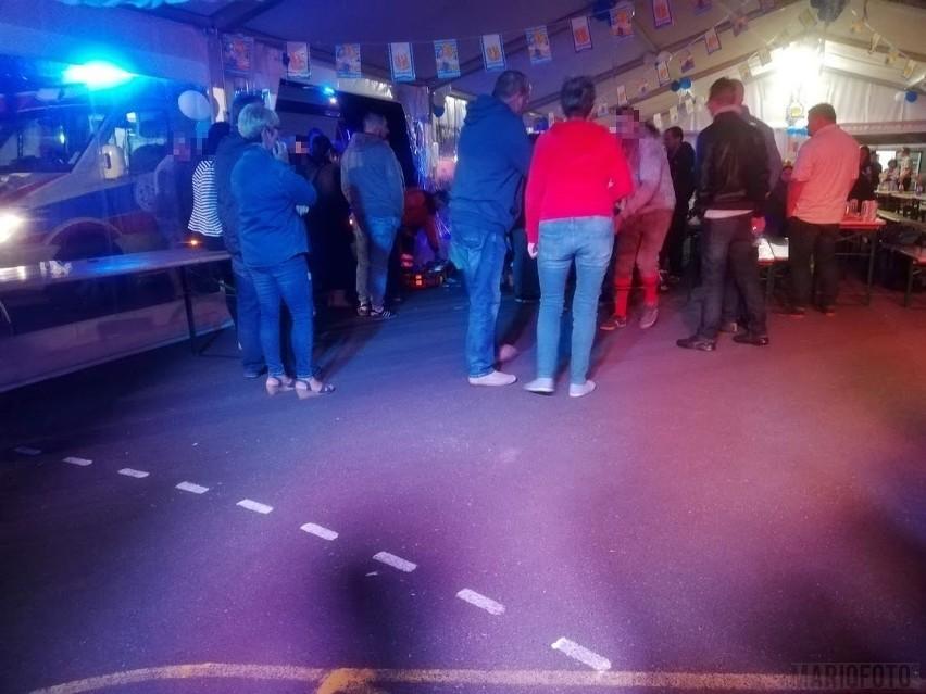 Atak nożownika na Oktoberfest w Biadaczu. Do zdarzenia...