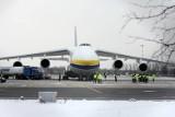 Gigantyczny An-124 Rusłan znów zabierze transport z Łodzi