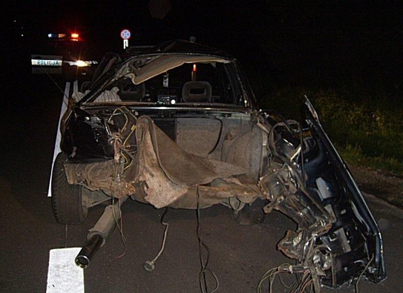 Wypadek pod Szczytnem. Zdjęcie ilustracyjne