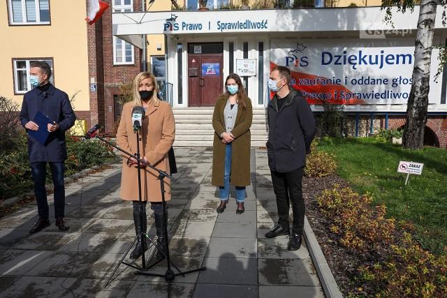 Posłowie KO ze Szczecina oburzeni interwencją policji