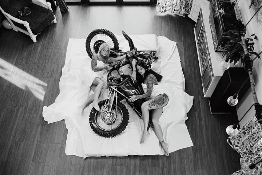 Śląskie Motocyklistki znów zachwyciły! Ich kalendarz na 2021...