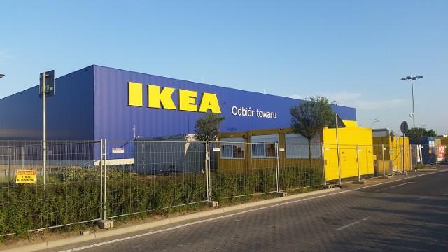 Na Franowie powstał nowy budynek należący do sieci sklepów IKEA.