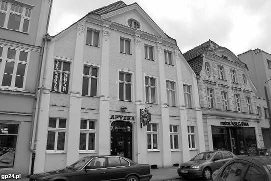 Barokowa kamienica przy Starym Rynku w Słupsku