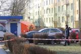Strzelanina na Rembowskiego w Zgierzu. Policjanci strzelali do awanturujących się obcokrajowców. Są ranni [23.02.2018]