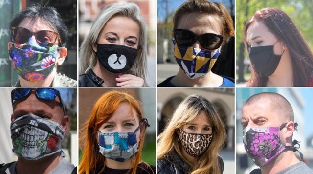 Maseczki ochronne – to już moda! Jakie maski są modne? Kolory ...