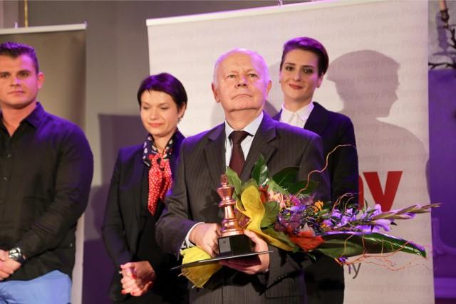 Tytuł Menedżęr Roku 2014 odebrał Antoni Stolarski, założyciel i prezes firmy SaMASZ