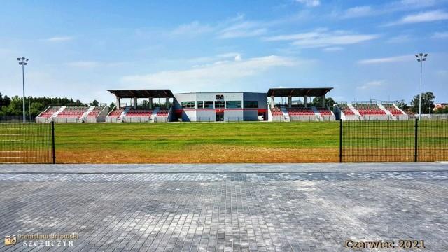 Stadion Wissy Szczuczyn robi wrażenie