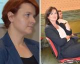 Hanna Korthals-Jacuńska i Lucyna Karnowska z nagrodą Stalowego Anioła 2020