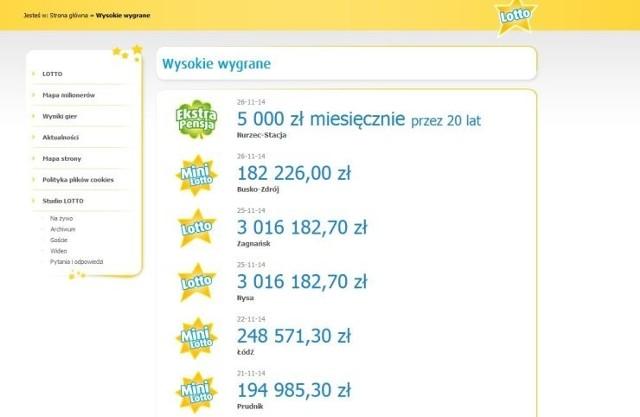 Gracz LOTTO w Nurcu-Stacji przez 20 lat będzie odbierał świetną wypłatę
