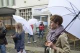 Zapraszali do Arsenału z białymi parasolkami [ZDJĘCIA]