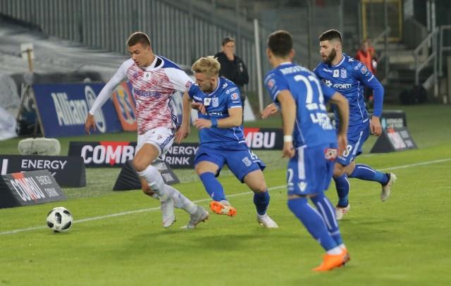 Górnik Zabrze stoczył z Lechem Poznań twardy bój, ale wciąż pozostaje bez zwycięstwa na własnym stadionie