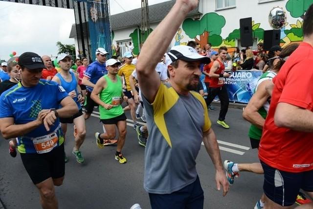 Półmaraton w Tarnowie Podgórnym 2014