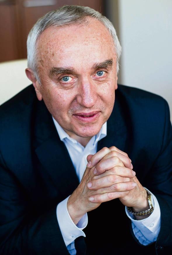 Prezes MPEC Jan Sady
