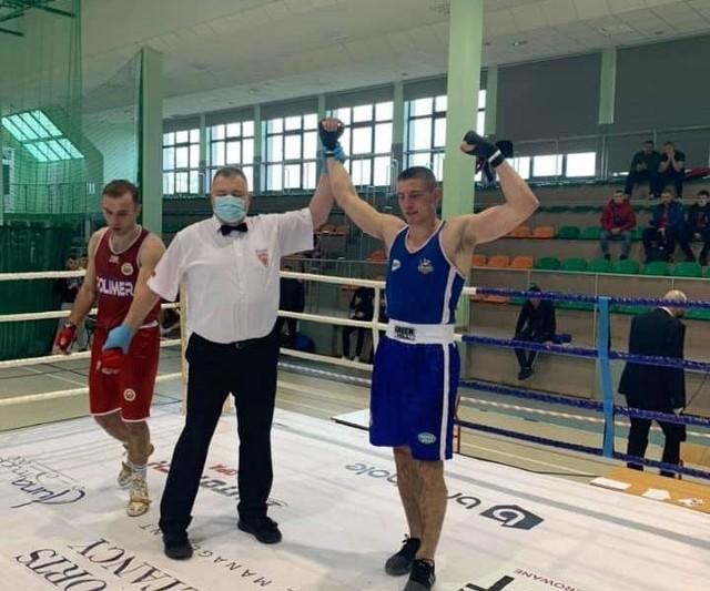 Wiktor Szadkowski (Stara Szkoła Boksu Lublin) rywalizuje w kategorii wagowej do 81 kg