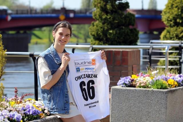 Dominika Owczarzak z AZS AJP Gorzów