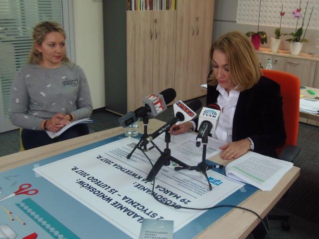 Z prawej Małgorzata Sadowska-Rodziewicz, naczelnik Wydziału Kultury, Sportu i Promocji, obok Magdalena Gaca