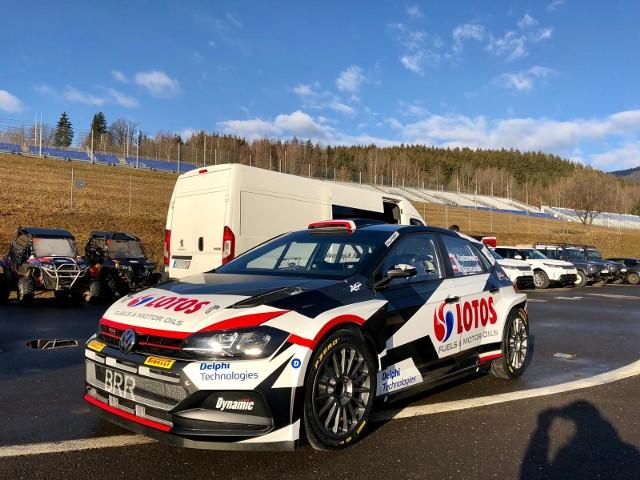 Nowy samochód Lotos Rally Team to Volkswagen Polo GTI R5.