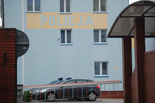 Komenda Powiatowa Policji w Nakle.
