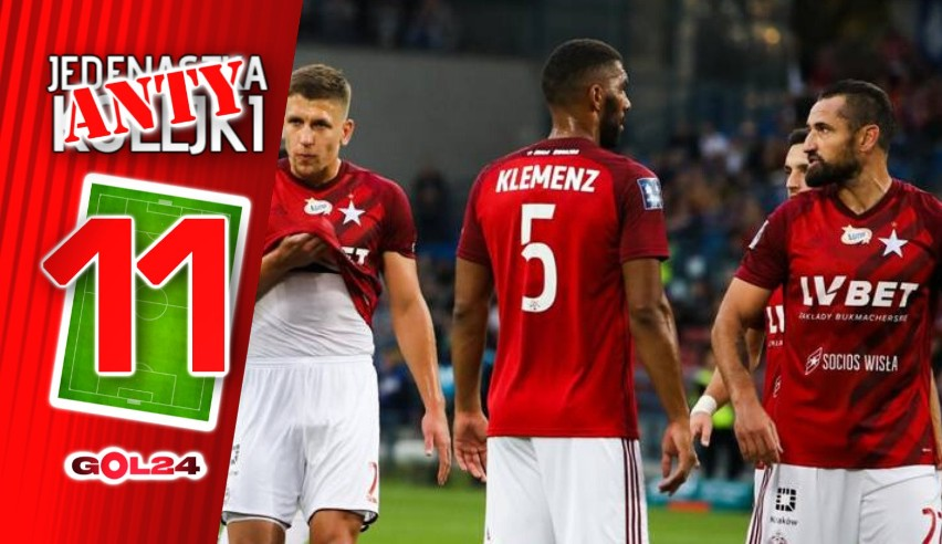 """Liczba """"13"""" okazała się wyjątkowo pechowa dla Wisły Kraków...."""