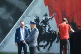 Ostrołęka. Mural historyczny przy ul. Pileckiego uroczyście odsłonięty