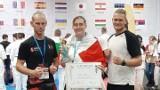 Zielonogórski Klub Sportowy Karate Kyokushin ma trzy medale mistrzostw Europy. Dominika Antosik, Tomasz Madej i Erwin Pękala na podium