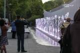 Nowa atrakcja w Szczecinie już działa! Multimedialna fontanna przy ul. Niemierzyńskiej. ZDJĘCIA