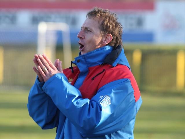 Grzegorz Wódkiewicz, trener Gryfa Słupsk