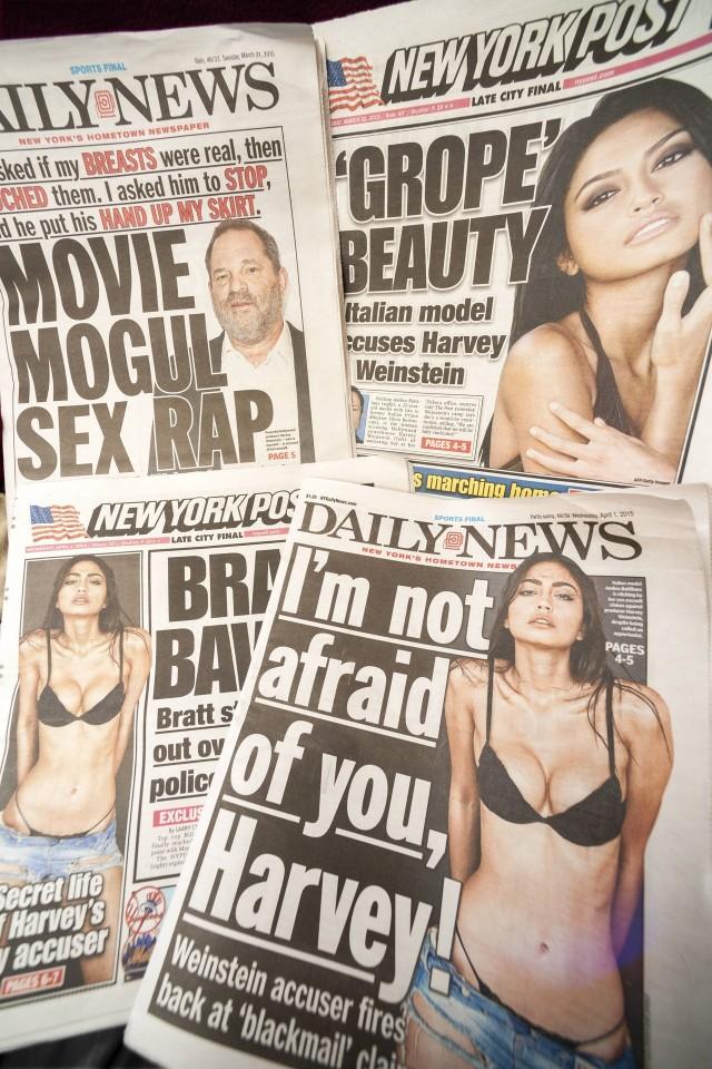 Jedną z ofiar Weinsteina miała być modelka Ambra Battilana Gutierrez