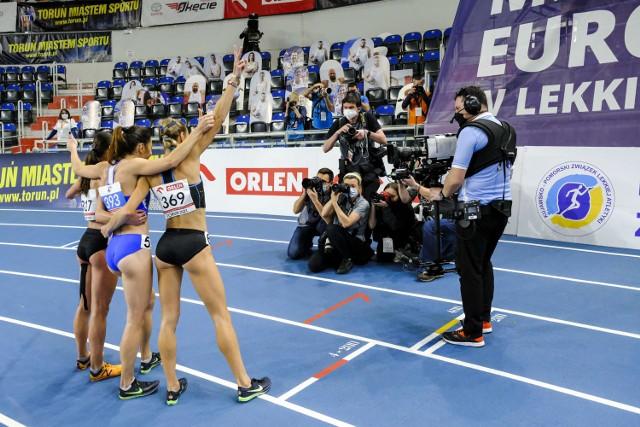 Halowe mistrzostwa Polski w lekkoatletyce rozgrywane były przez dwa dni w Arenie Toruń