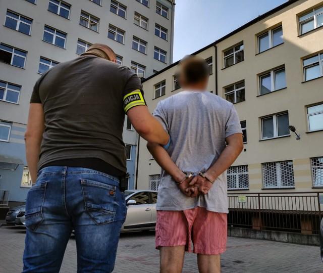 Pies policyjny Jarek wytropił zuchwałego złodzieja na osiedlu Bojary