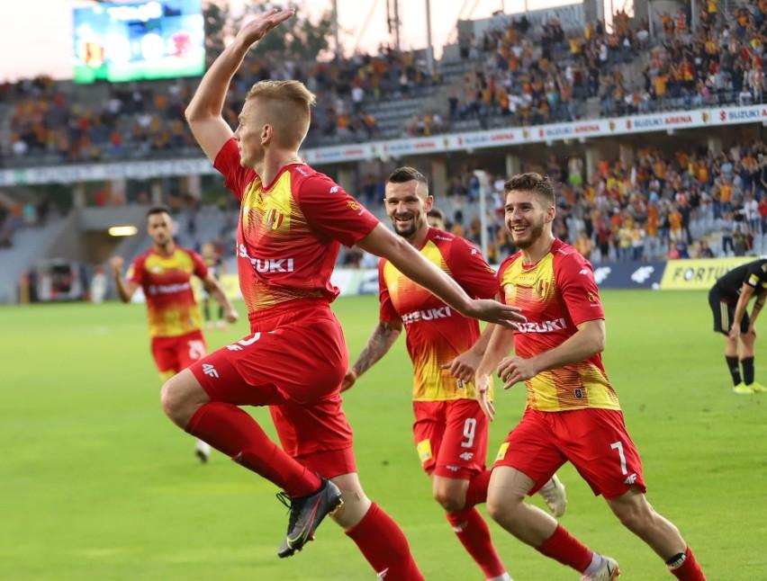 Korona Kielce pokonała ŁKS Łódź 1:0 w meczu Fortuna 1 Ligi....