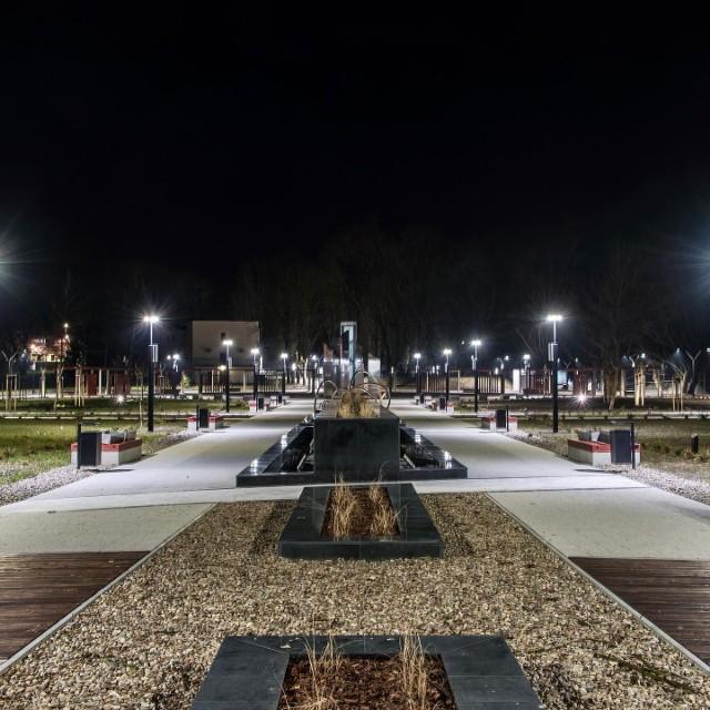 Park miejski w Miechowie