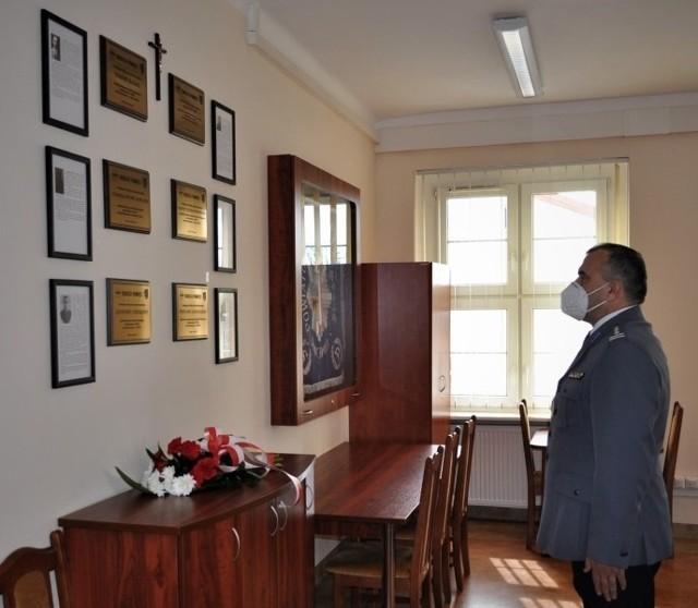 Bytowski komendant oddał hołd zamordowanym w Zbrodni Katyńskiej.